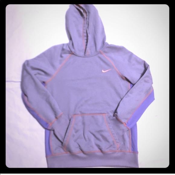 nike hoodie lila